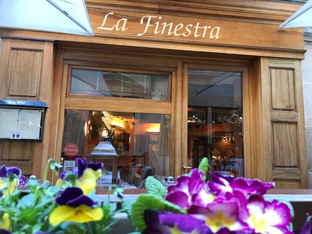 Restaurant Italien La Finestra Genève
